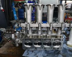 Audi - 50 Gruppe 2 Motor Aufbau