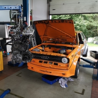 Motor-ausbauen-Audi-50-Gr.2